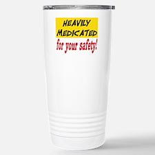 HEAVILY MEDICATED Travel Mug