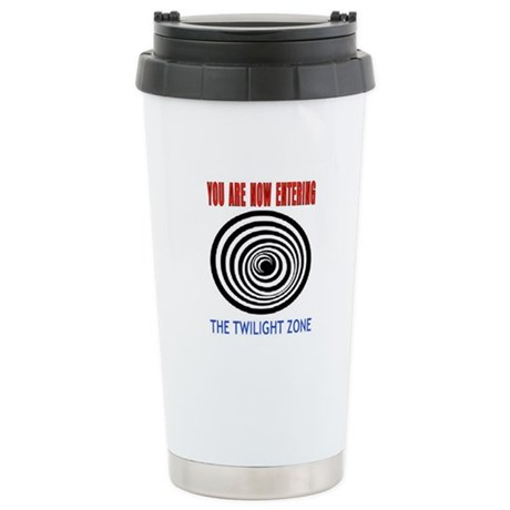 YOU ARE NOW ENTERING #1 Stainless Steel Travel Mug