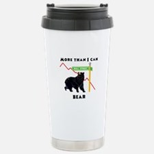More Than I Can Bear Market Stainless Steel Travel
