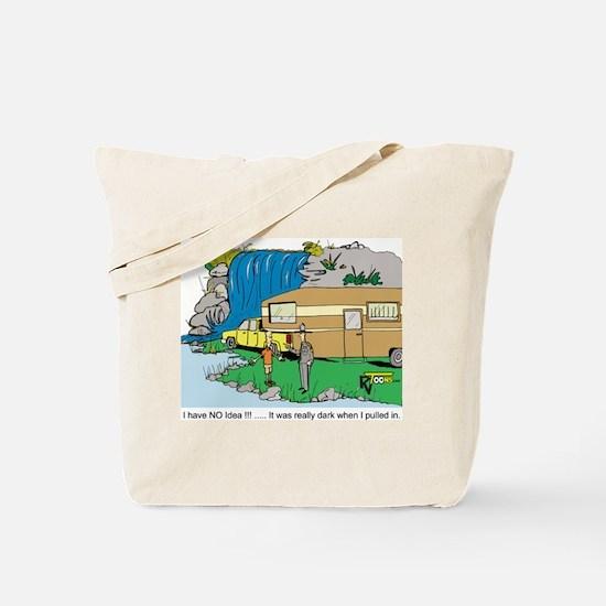 It Was Dark Tote Bag
