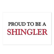 Proud to be a Shingler Postcards (Package of 8)
