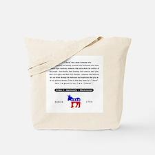 J.F.K. Tote Bag