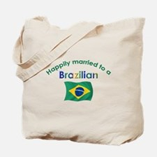 Happily Married To Brazilian Tote Bag