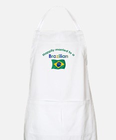 Happily Married To Brazilian BBQ Apron