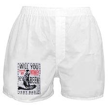 Spank my monkey Boxer Shorts