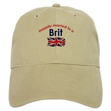 Happily Married Brit 2 Baseball Cap