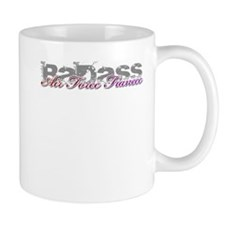 Badass Air Force Fiancee Mug
