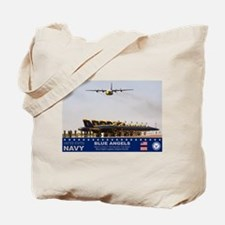 Blue Angels C-130 Hercules Tote Bag