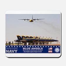 Blue Angels C-130 Hercules Mousepad
