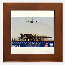 Blue Angels C-130 Hercules Framed Tile