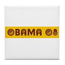 Cute Barack obama 08 Tile Coaster