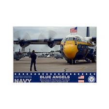 Blue Angels C-130 Hercules Rectangle Magnet