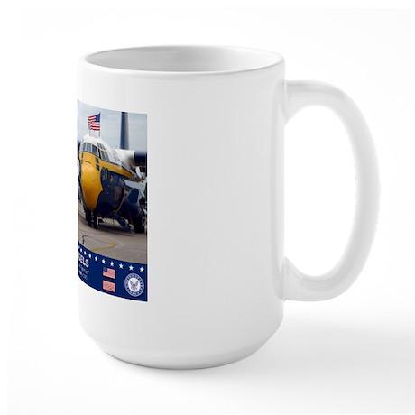 Blue Angels C-130 Hercules Large Mug