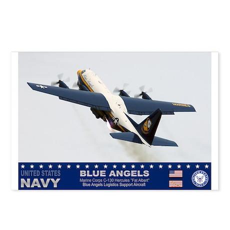 Blue Angels C-130 Hercules Postcards (Package of 8