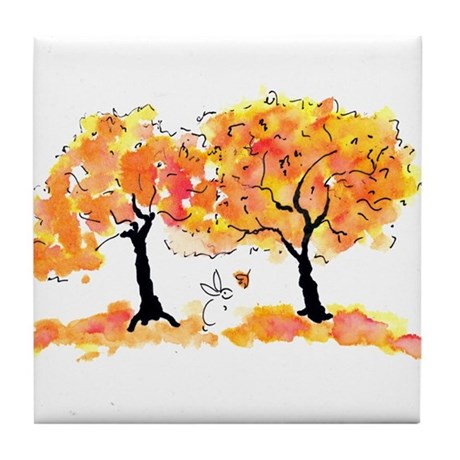 Gifts Tile Coaster