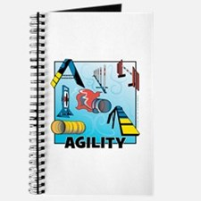 Woodcut Agility Obstacles Journal
