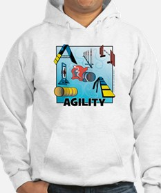 Woodcut Agility Obstacles Hoodie