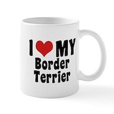 I Love My Border Terrier Mug