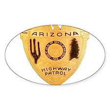 Arizona Highway Patrol Oval Decal