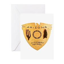 Arizona Highway Patrol Greeting Cards (Pk of 20)