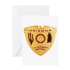 Arizona Highway Patrol Greeting Card