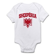 Albania Red Infant Bodysuit