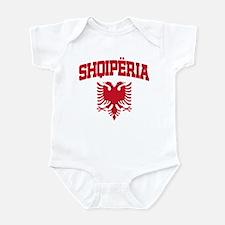 Albania Red Infant Bodysuit