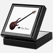 Unique Bass guitar Keepsake Box