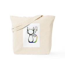 Cute Funny cat Tote Bag
