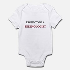 Proud to be a Selenologist Infant Bodysuit