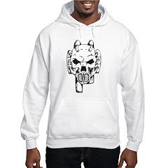 Robot Skull Hoodie