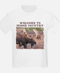 Welcome to Moose Country T-Shirt