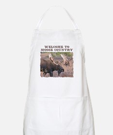 Welcome to Moose Country BBQ Apron