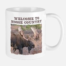 Welcome to Moose Country Mug