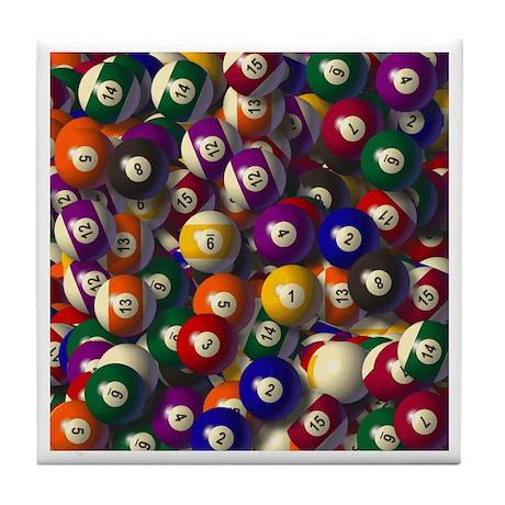 Billiards Tile Coaster