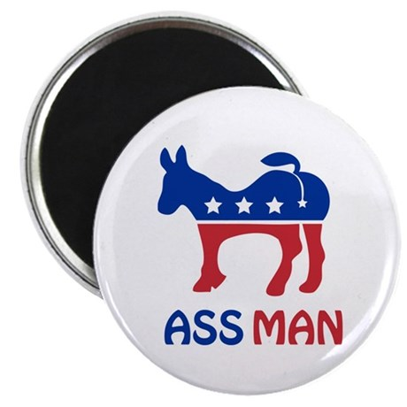 "Ass Man 2.25"" Magnet (10 pack)"