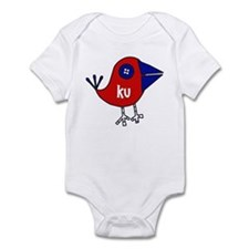 KU Bird Infant Bodysuit