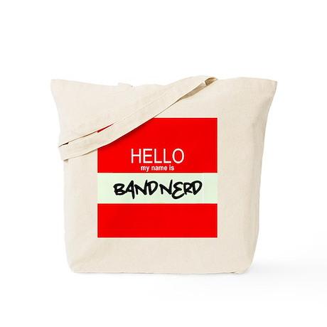 Hello! My Name Is BandNerd Tote Bag