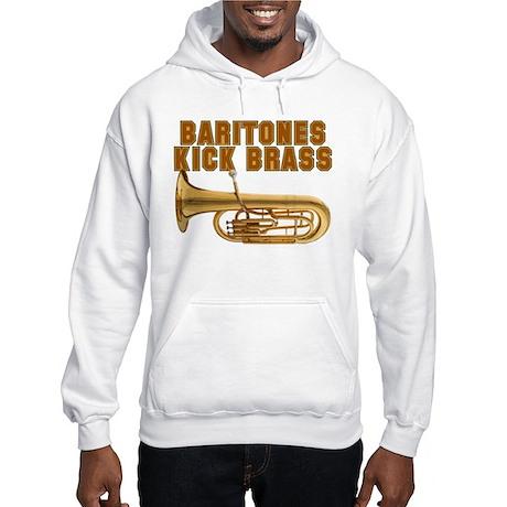 Baritones Kick Brass Hooded Sweatshirt