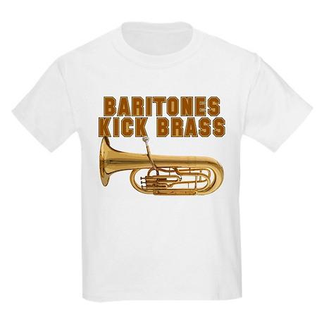 Baritones Kick Brass Kids Light T-Shirt