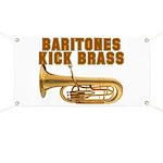 Baritones Kick Brass Banner