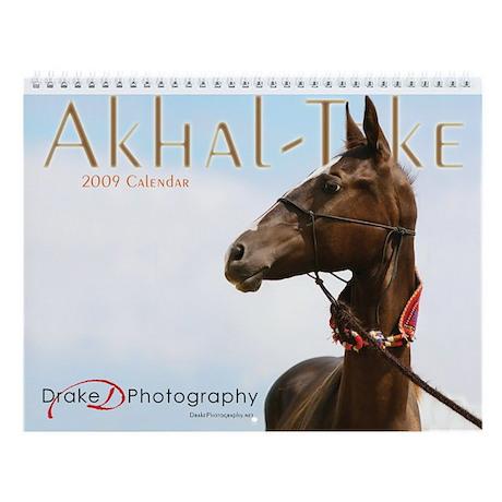 2009 Akhal-Teke Wall Calendar