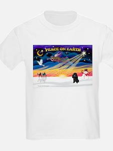 XmasSunrise/Poodle (min) T-Shirt
