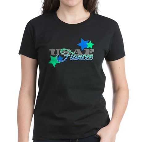 USAF Fiancee Women's Dark T-Shirt
