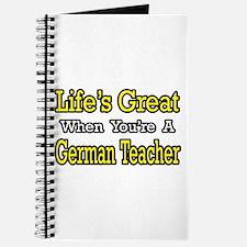 """""""Great...German Teacher"""" Journal"""
