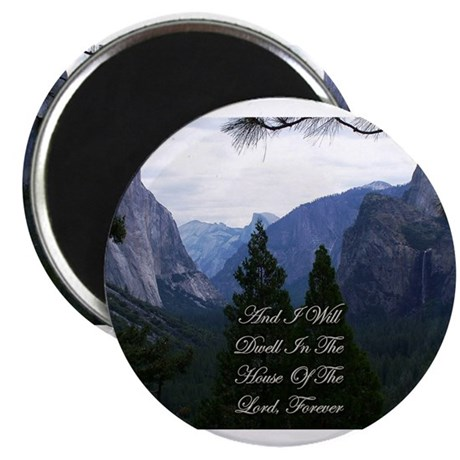 """And I Will Dwell 2.25"""" Magnet (100 pack)"""