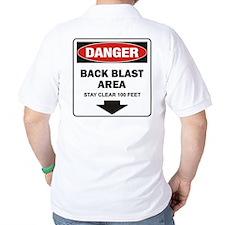 Danger Back Blast T-Shirt