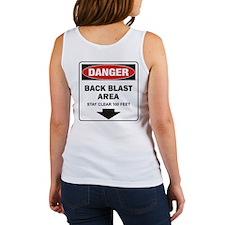 Danger Back Blast Women's Tank Top