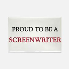 Proud to be a Screenwriter Rectangle Magnet