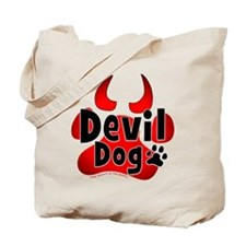 Devil Dog Tote Bag